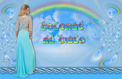 Colores al cielo by Sol Farias