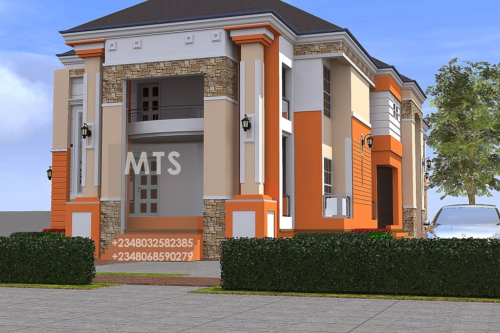 Mr anosike 4 bedroom duplex 2 bedroom flats for Four bedroom flat