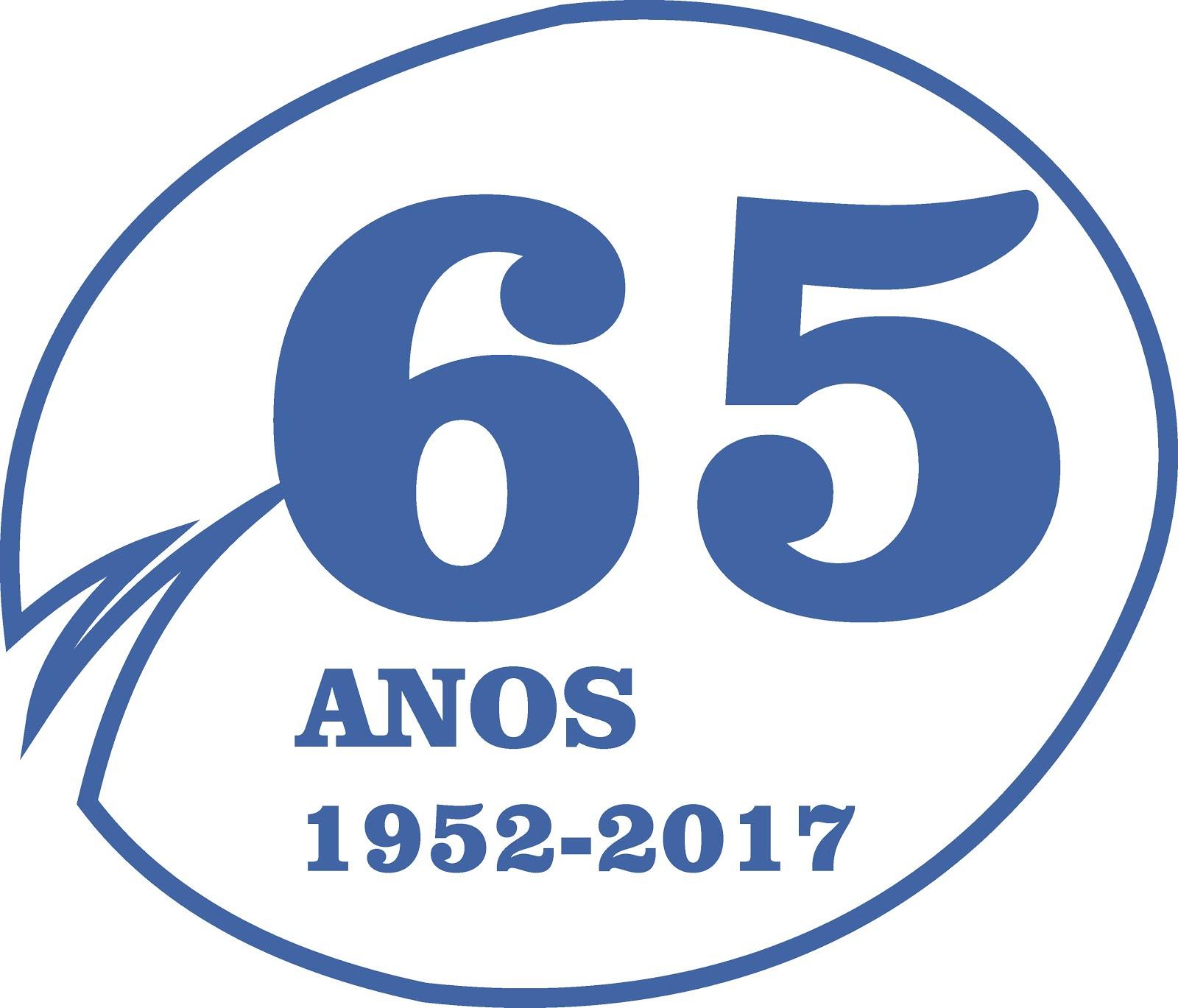 LOGOTIPO 65 ANOS