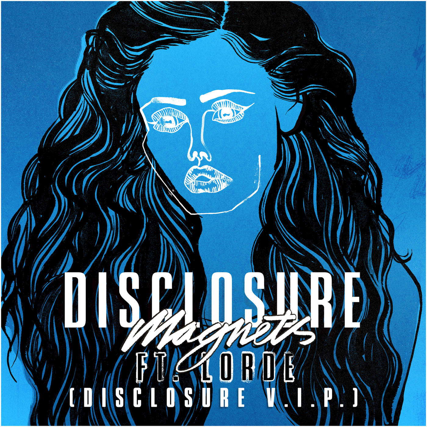 Disclosure - Magnets (feat. Lorde) [Disclosure V.I.P.] - Single Cover