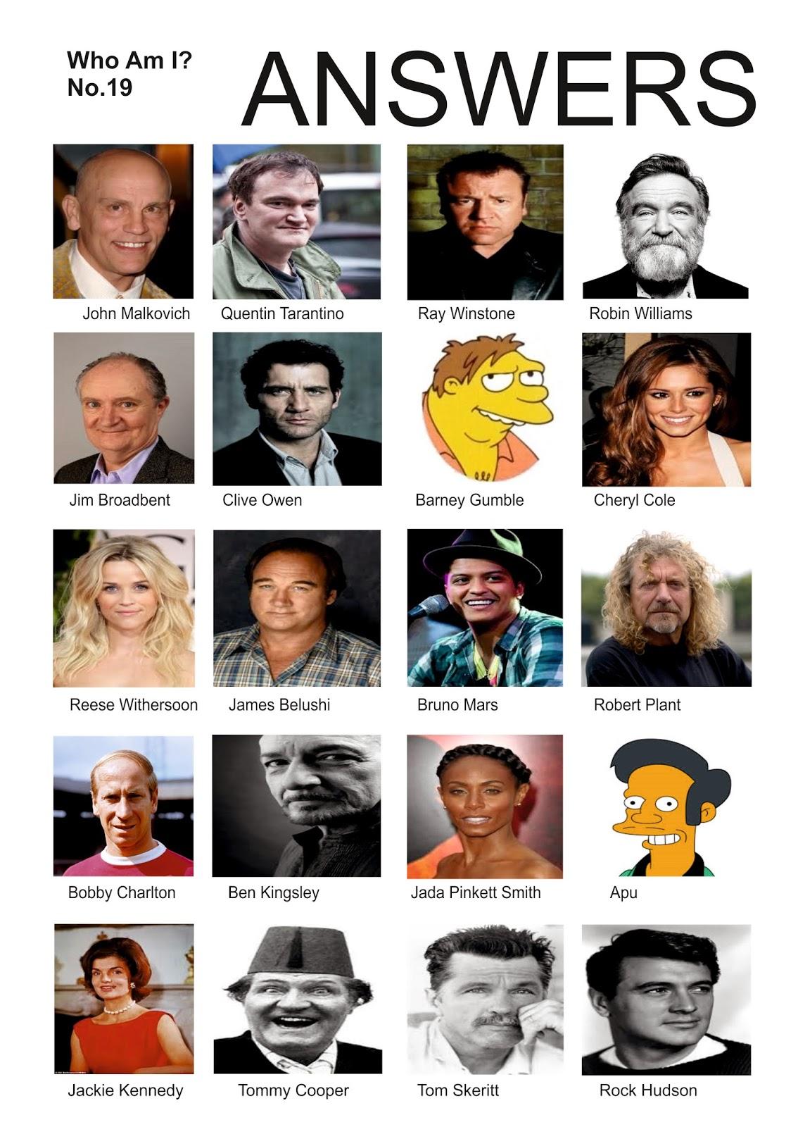 Celebrity Quizzes for 2018 - Best Celeb Quiz & Trivia ...