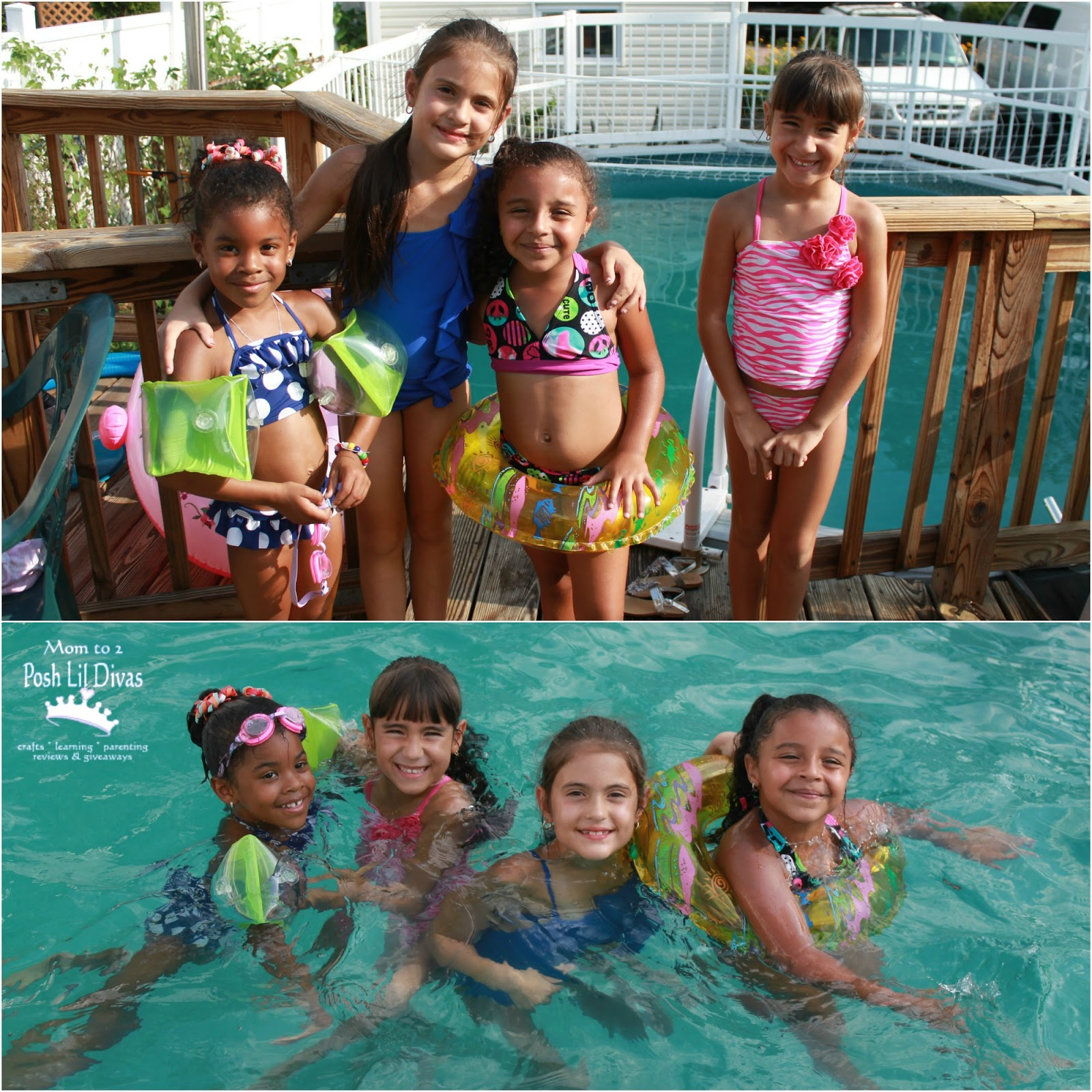 Mom to 2 Posh Lil Divas Summer Fun Family Friends & Bomb Pops