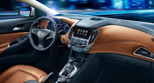 Interior Chevrolet Cruze terbaru 2016