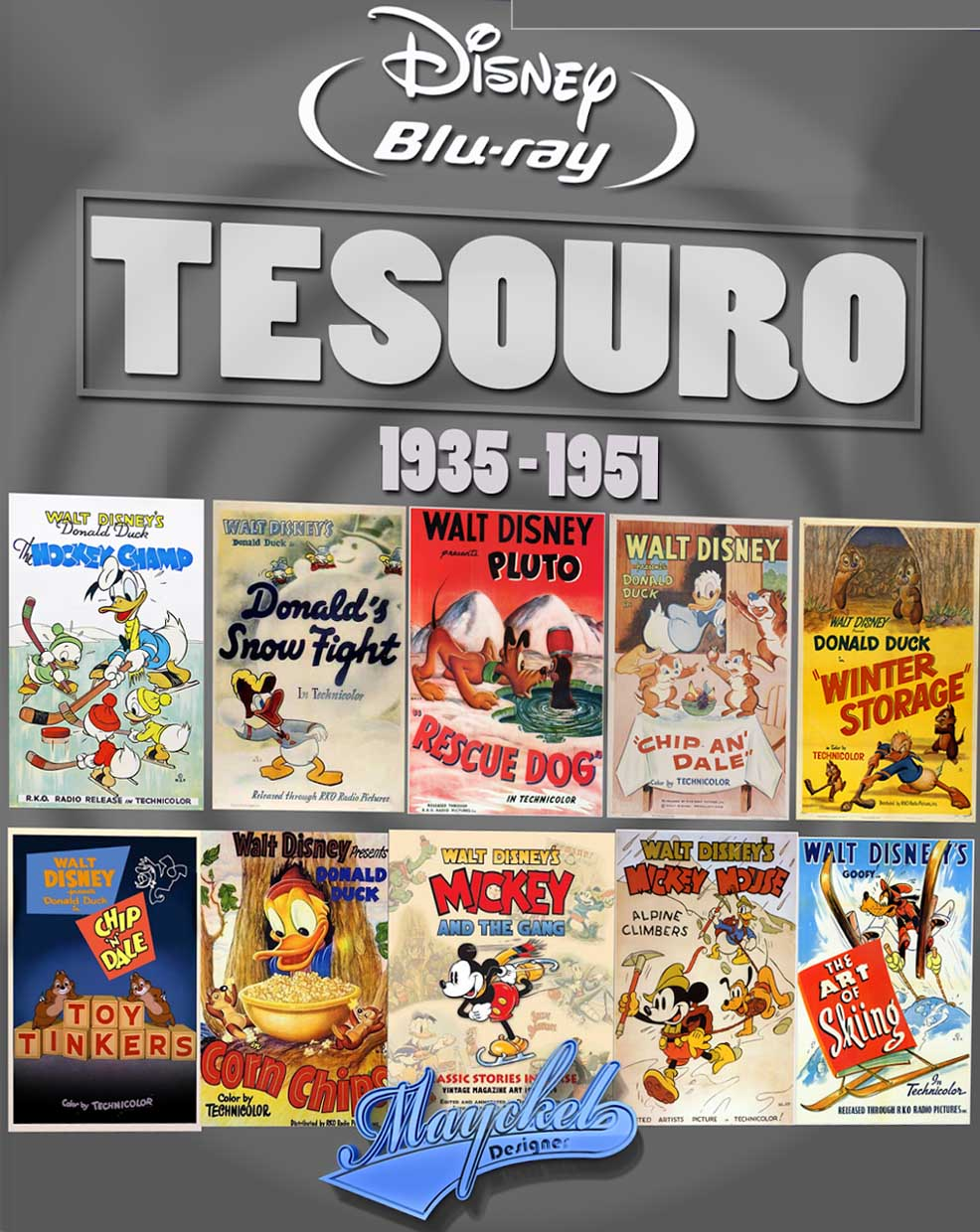 Tesouros da Disney Torrent – BluRay 720p Dublado (1935-1951)
