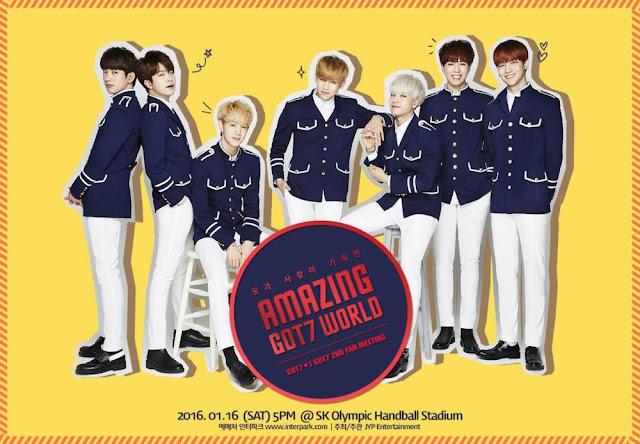 GOT7 họp mặt fan mừng kỉ niệm 2 năm ra mắt