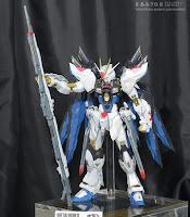 METAL BUILD Strke Freedom Gundam Tamashii Summer Collection 2015 display image 01