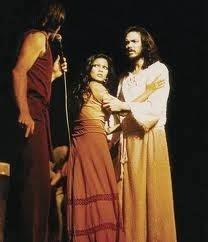 Durante la actuación de Jesucristo Superstar