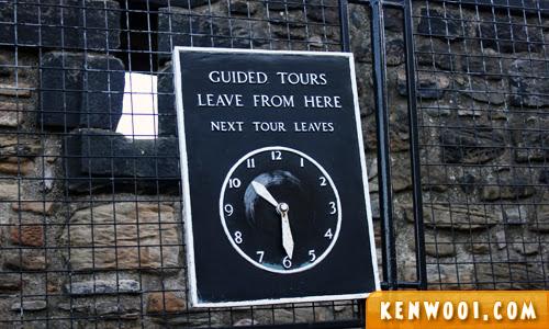 edinburgh castle castle tour
