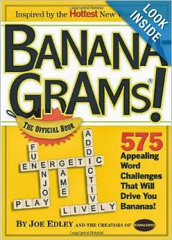 Bananagrams - The Official Book at Amazon