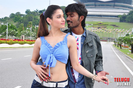 1 - Dhanush and Tamanna&#39;s Simha Putrudu Movie Stills
