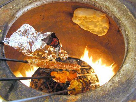 Backyard Tandoor tandoor built in our backyard (folsom, california) : food