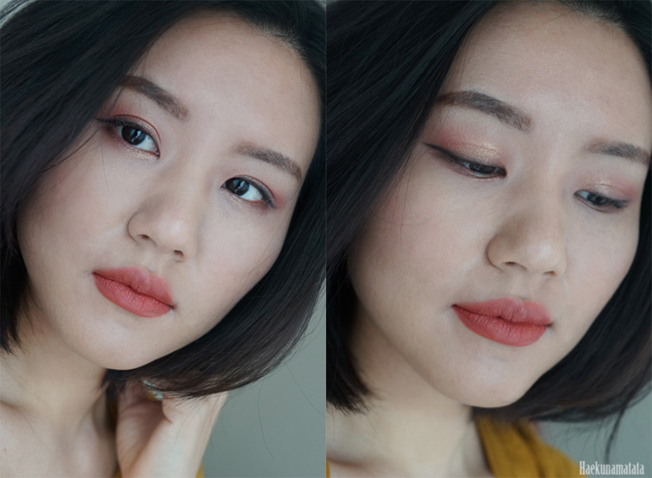 Spring Apricot Coral Makeup using Urban Decay Vice 4 Palette FOTD, Swatch, Review