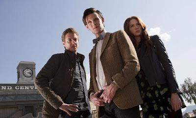 Doctor Who A Town Called Mercy Karen Gillan Matt Smith Arthur Darvill