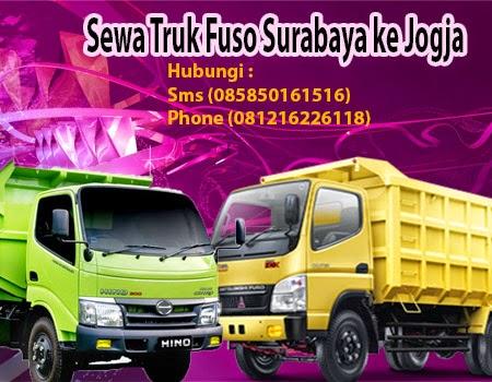 Sewa Truk Fuso Surabaya- Jogja