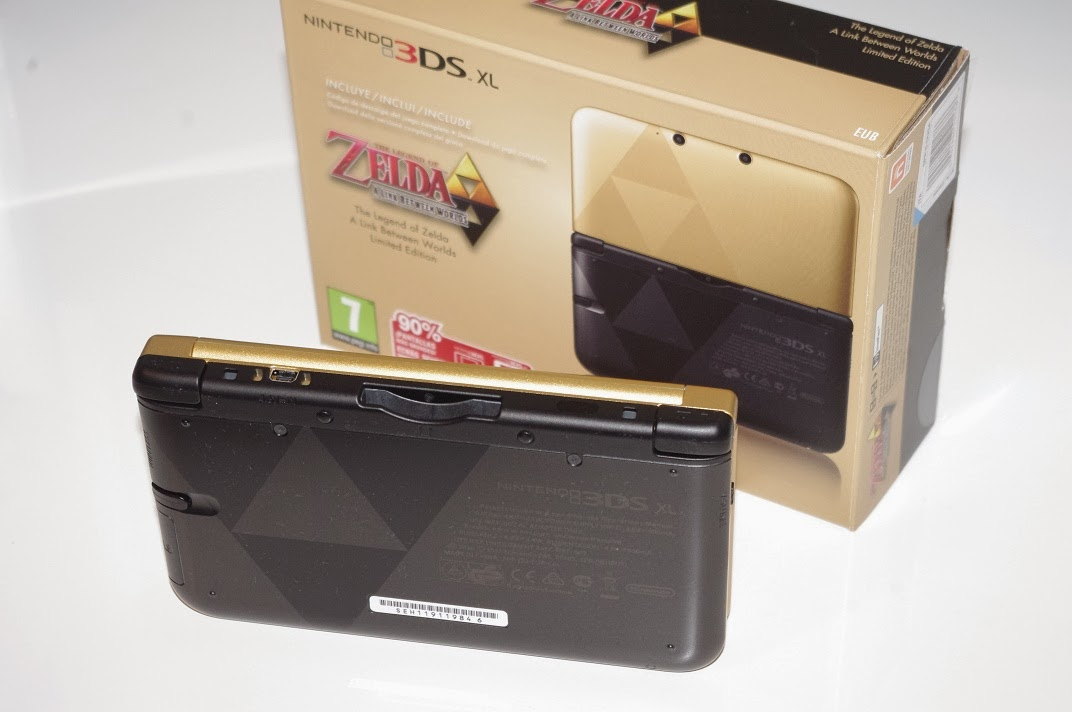 my passions nintendo 3ds xl zelda limited edition. Black Bedroom Furniture Sets. Home Design Ideas