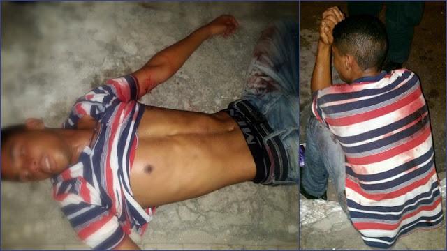 Homem invade casa de agente penitenciário em Aracaju tenta fazer família refém e acaba baleado