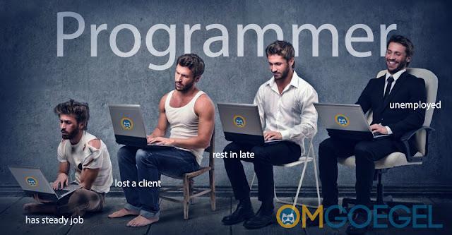 Ilustrasi Apa sih yang dikerjakan Programmer