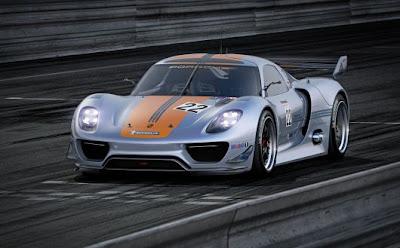 2012 Porsche 918 RSR