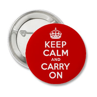 Keep Calm and Carry on Story of okokno
