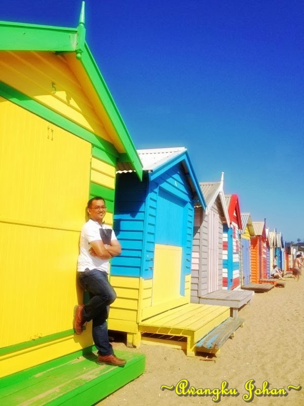 Bathing Boxes, Brighton Beach, Melbourne Australia