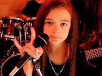 Menina de 11 faz homenagem a Dio