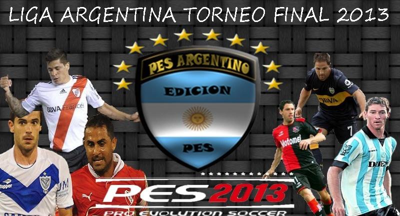 descargar liga argentina para el pes 6: