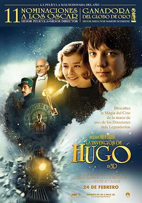 La invención de Hugo cartel