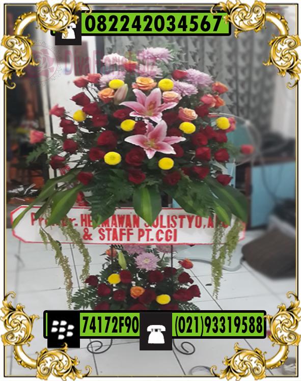 standing flowers Congratulations Office