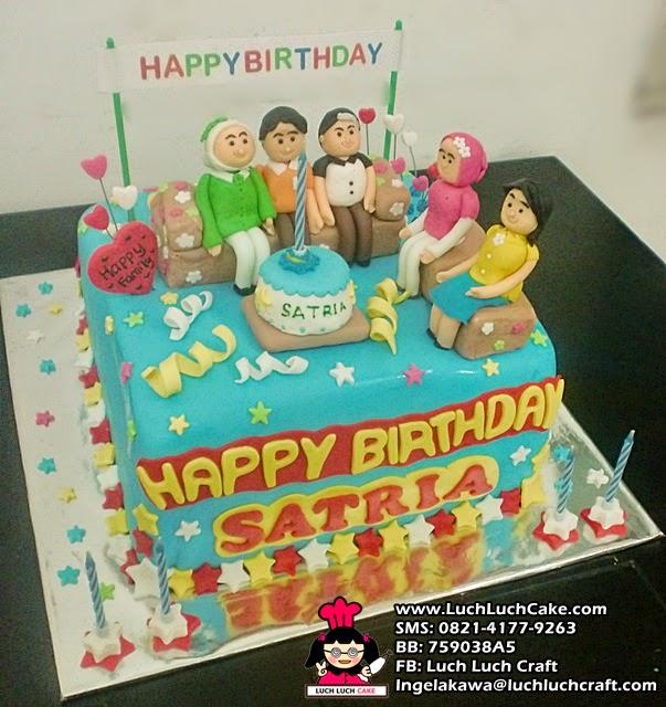 jual kue tart ulang tahun custom