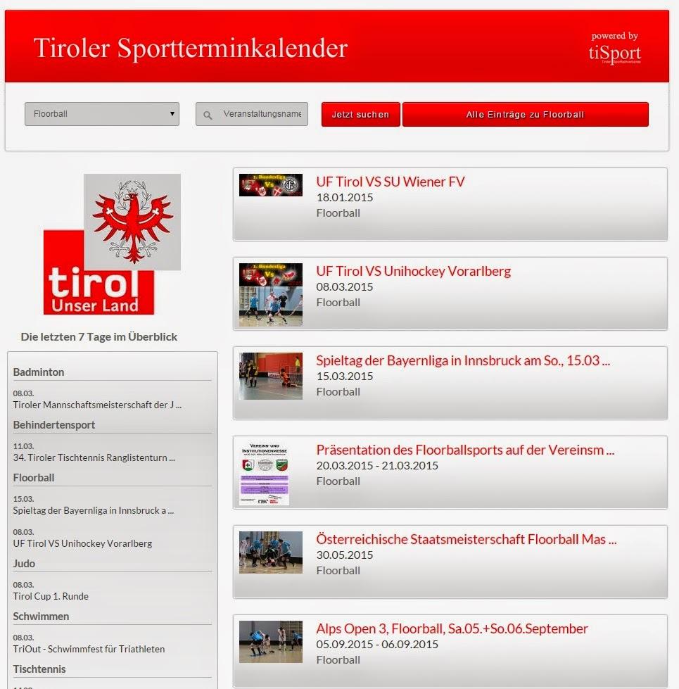 Tiroler Sportkalender