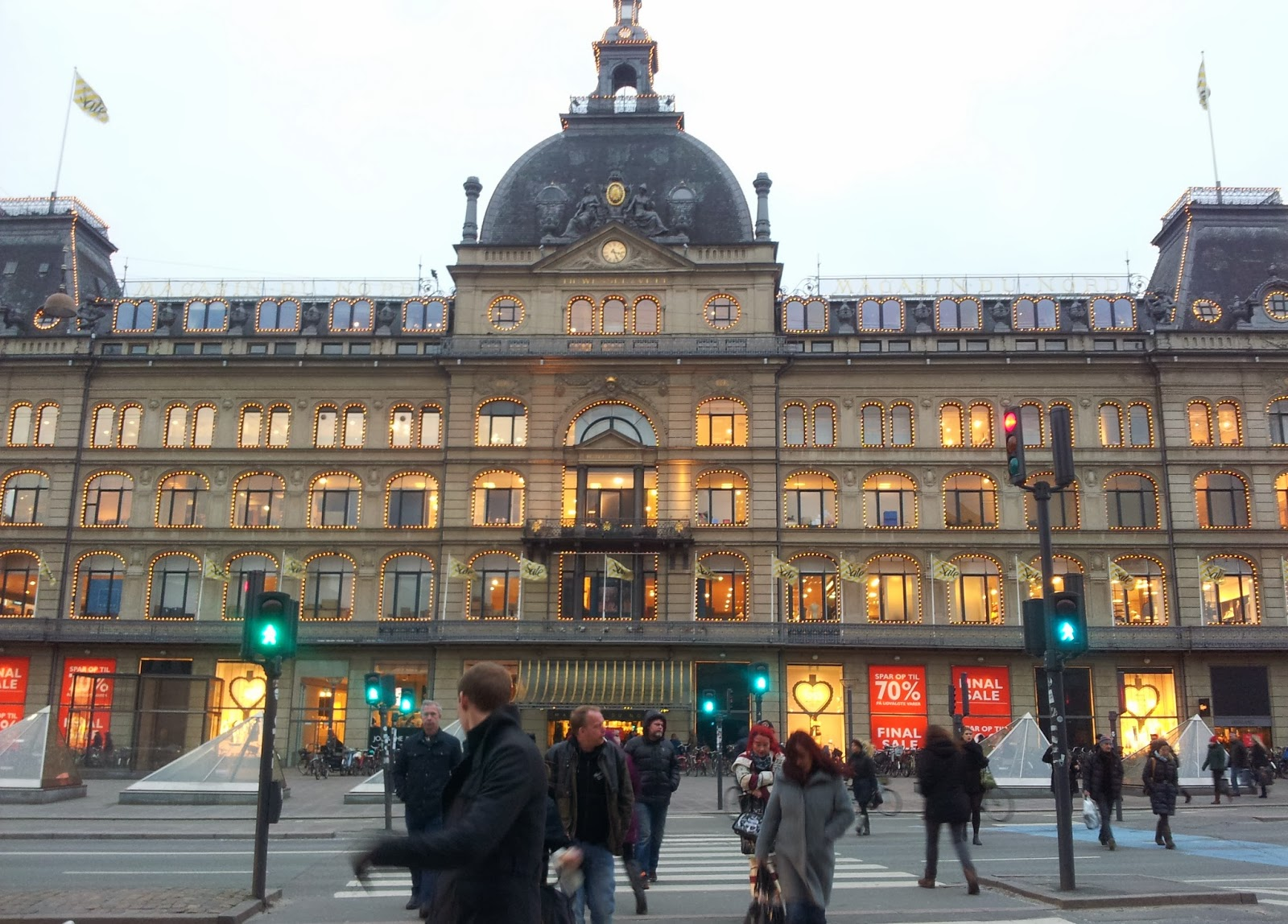 Magasin department store in Copenhagen