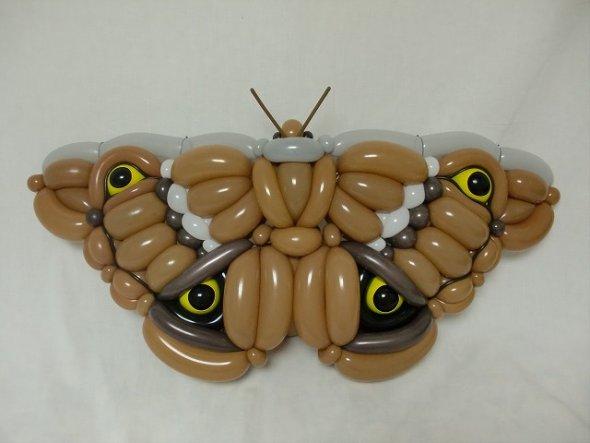 Masayoshi Matsumoto isopresso arte com balões bexigas esculturas de bexigas animais youkais desenhos animados