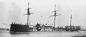 crucero reina mercedes, historia militar