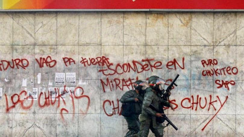 2014�1317 Venezuelan protests