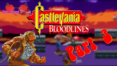 Castlevania Bloodlines is the only game in the franchise to appear on the Sega Genesis