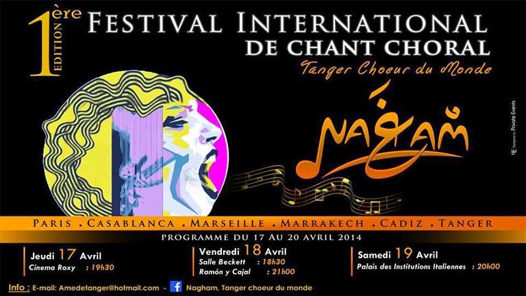 Festival Internacional de Coros en Tánger