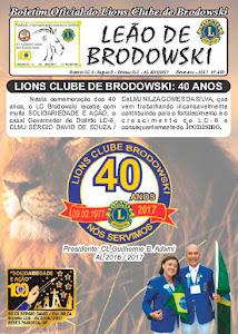 BOLETIM 40 ANOS - LC BRODOWSKI