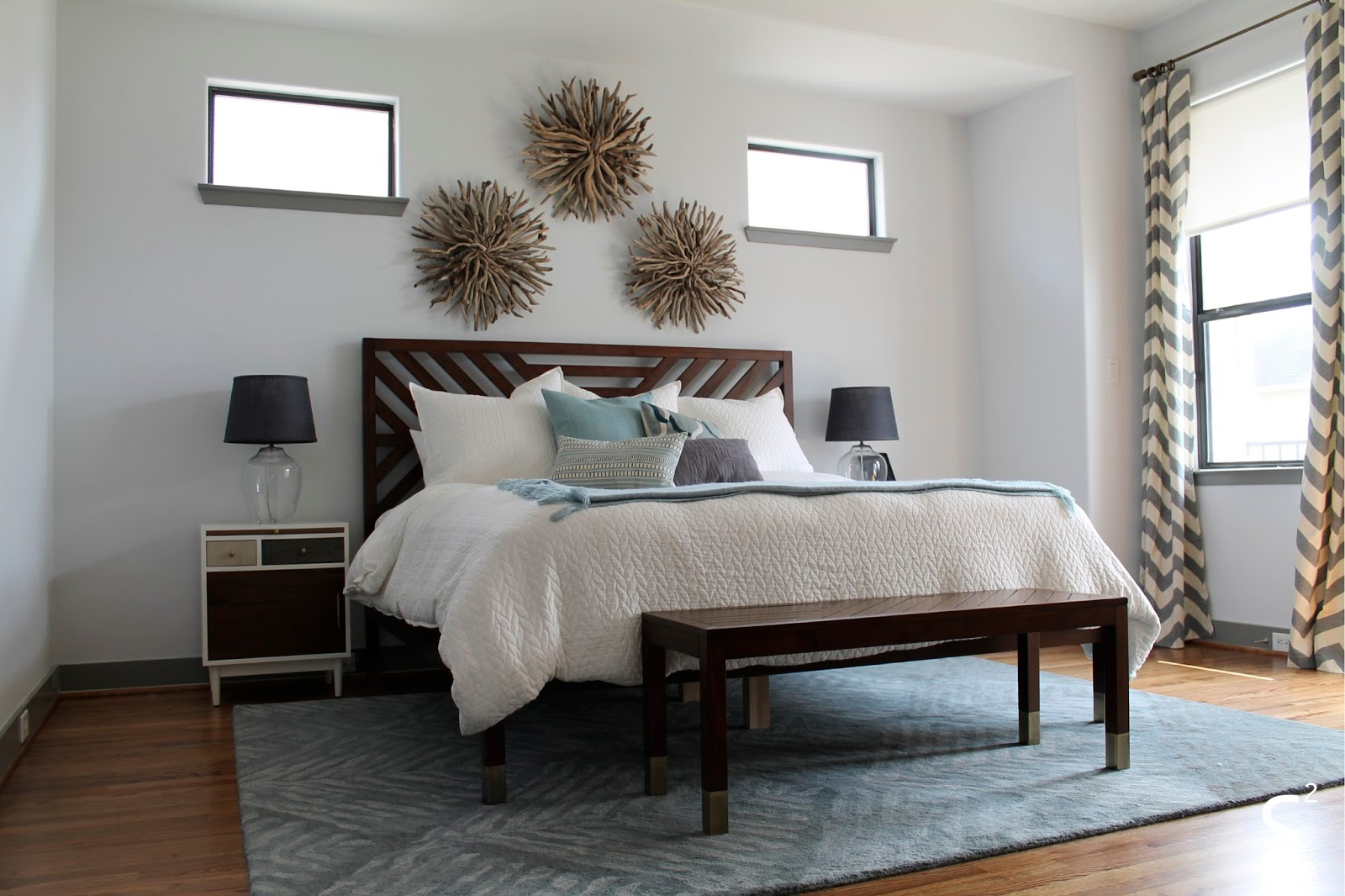 Mid Century Modern Master Bedroom S Squared Design December 2015