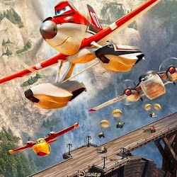 Poster Planes: Fire & Rescue 2014