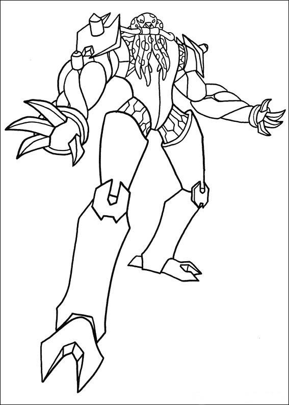 coloring pages ben 10 - photo#25
