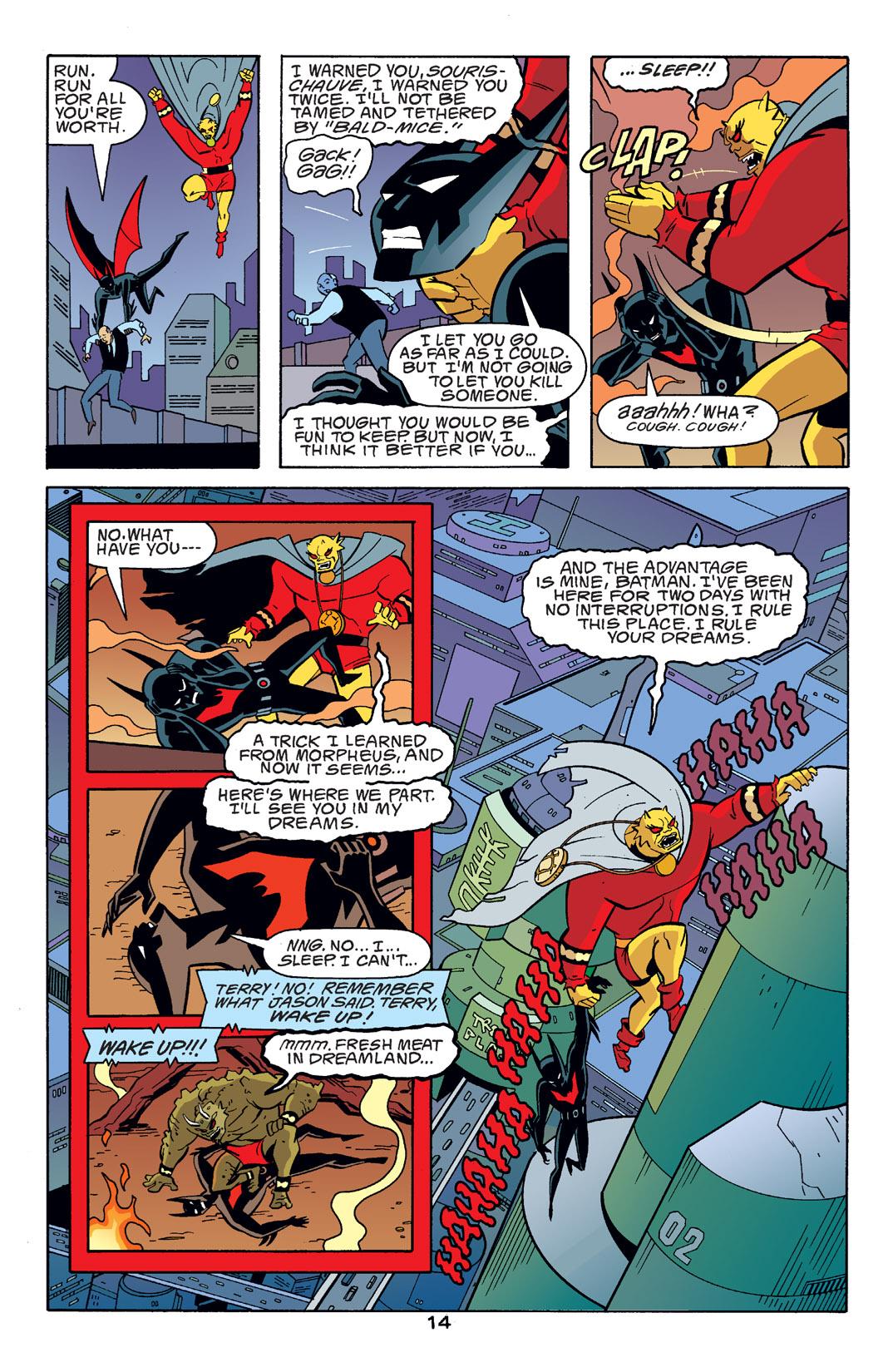 Batman Beyond [II] Issue #14 #14 - English 15