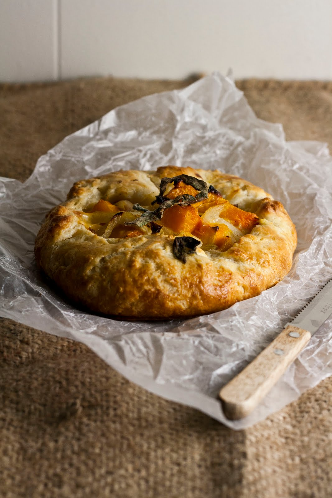 Butternut Squash and Caramelized Onion Galette ...