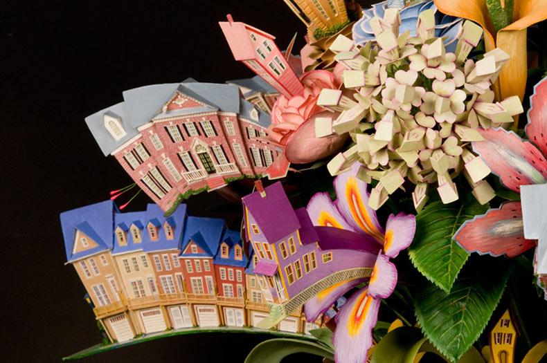 Ramo de flores arquitectonicos por James Grashow
