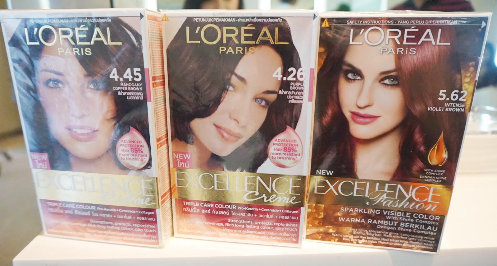 Loreal excellence hair color chart india best hair color 2017 l oreal paris excellence creme aishwarya s brown 425 72ml geenschuldenfo Images