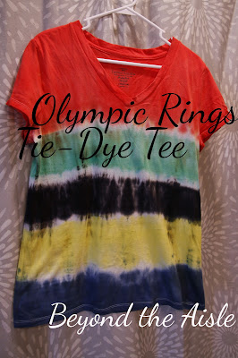 Beyond the Aisle: Olympic Rings Tie-Dye Tee