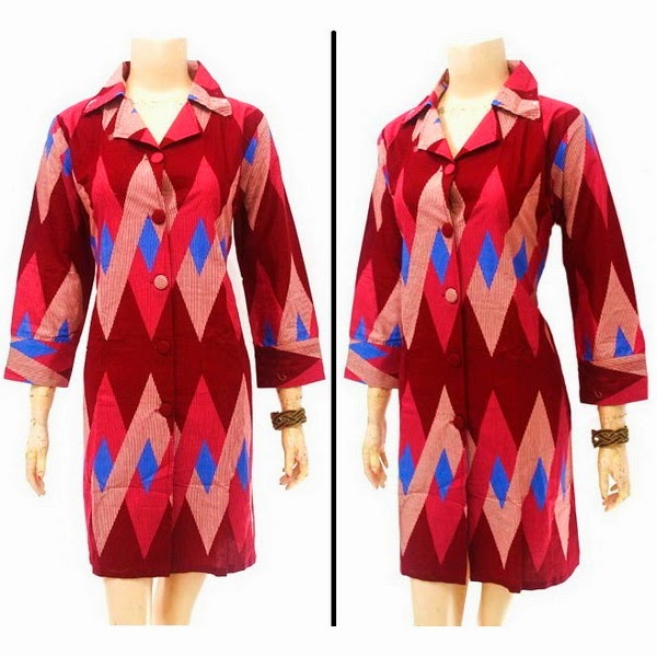 Grosir Dress Batik Murah