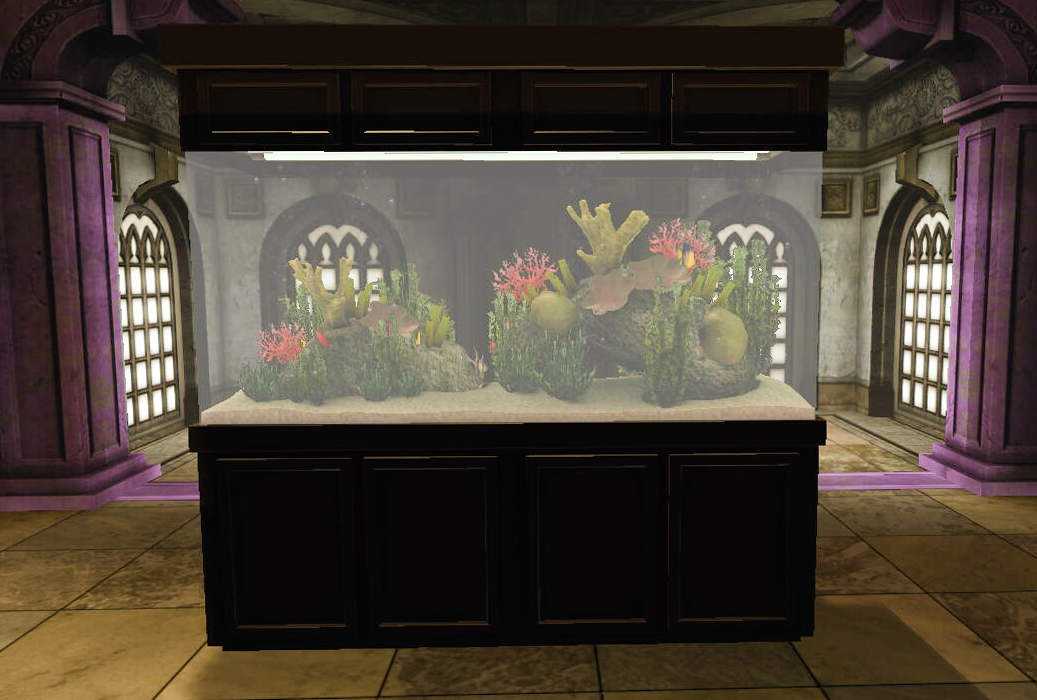 Dcuo furniture aquarium for Tank furniture