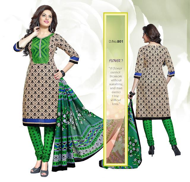 Buy Ladies Unstitched Cotton Dress Material