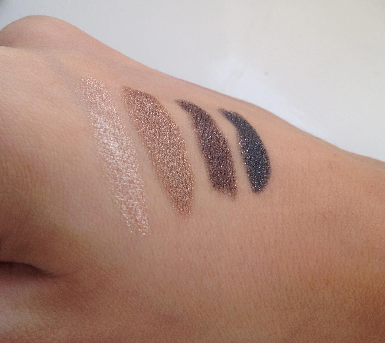 gosh-forever-eyeshadow-swatches