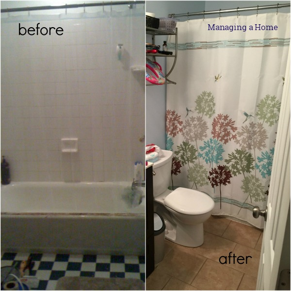 Master Bathroom Renovation Completed